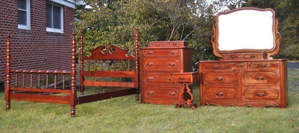 Lillian Russell Bedroom Furniture : Lillian RussellCherry Bedroom Suite