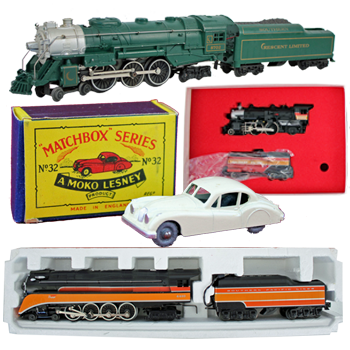 The Estate of Thomas Henley Sr. (Jackson, TN) Trains & Toys Absolute Auction